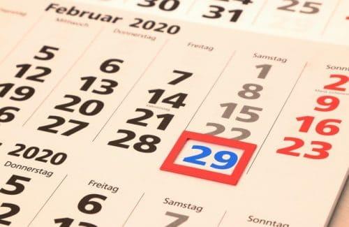 Schaltjahre mit Excel schnell ermitteln
