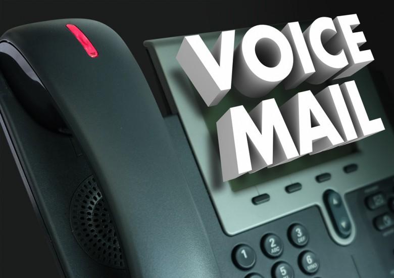 Voice Mail auf einem Telefon