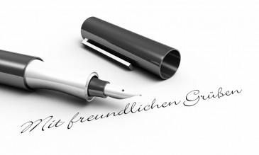Richtiger Briefanfang, Füller