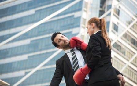 Die Regeln männlicher und weiblicher Machtspielchen