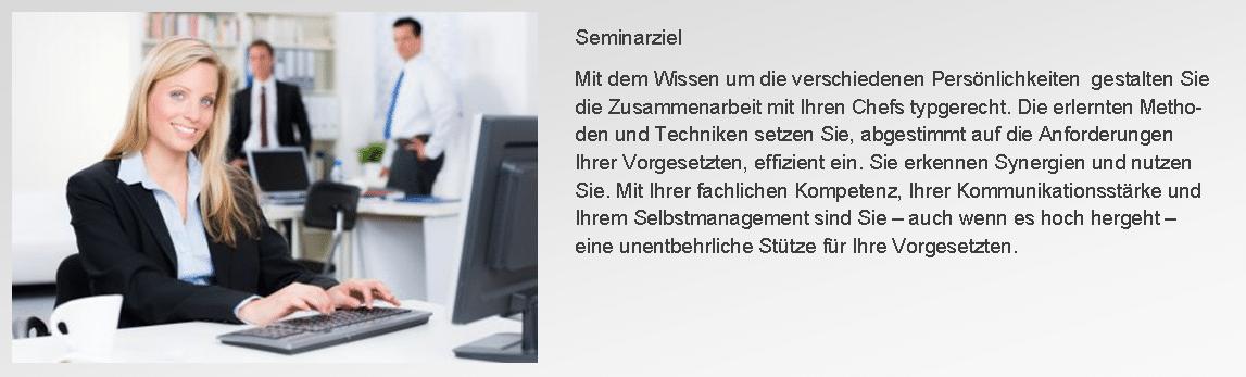 Seminar Für zwei Chefs arbeiten