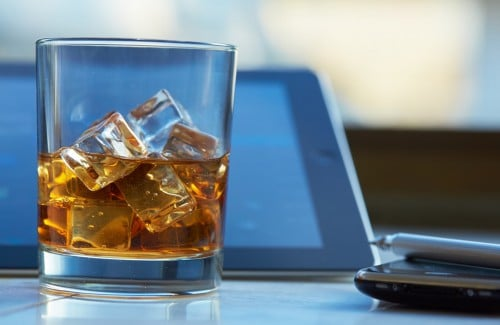 Alkohol im Büro
