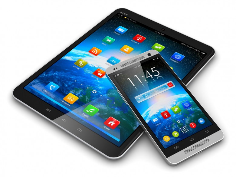 Technik, Smartphone, Tablet Computer, modern