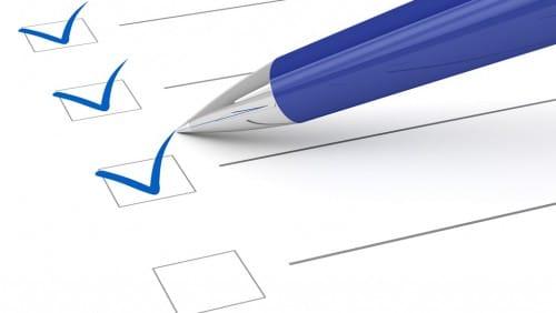 Checkliste für die perfekte Bewerbung