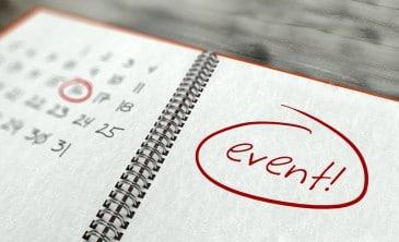 Events organisieren