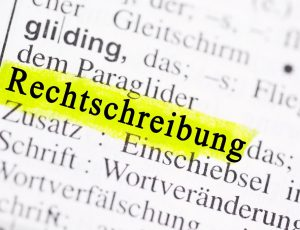 Webinar Korrespondenz und Rechtschreibung