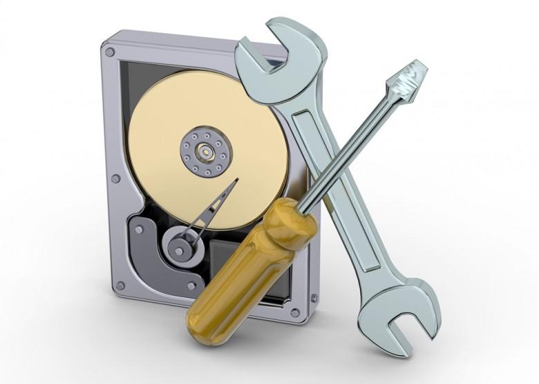 Werkzeuge, Festplatte