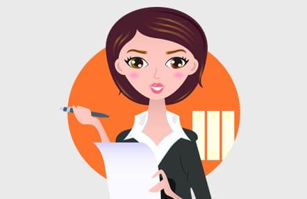 Die ambitionierte Sekretärin