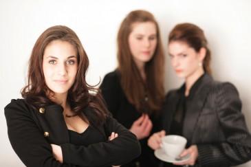 Büromitarbeiterinnen