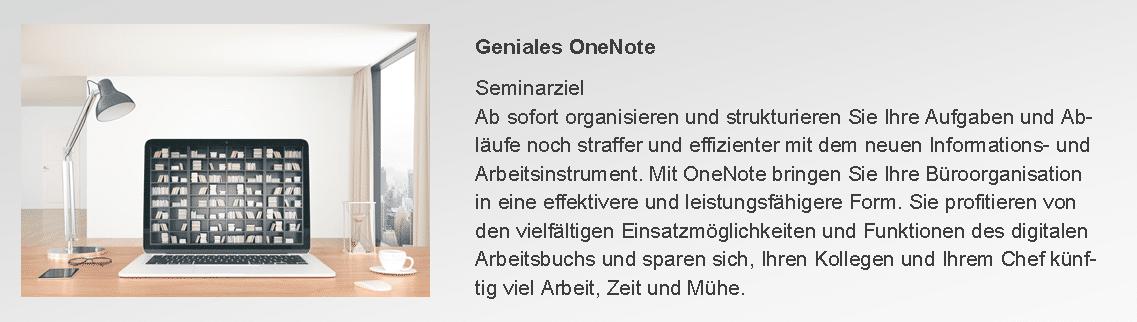 Seminar OneNote