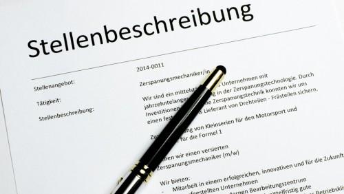 Ihre Stellenbeschreibung: die Basis für Gehaltsverhandlungen