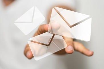Emails wiederfinden