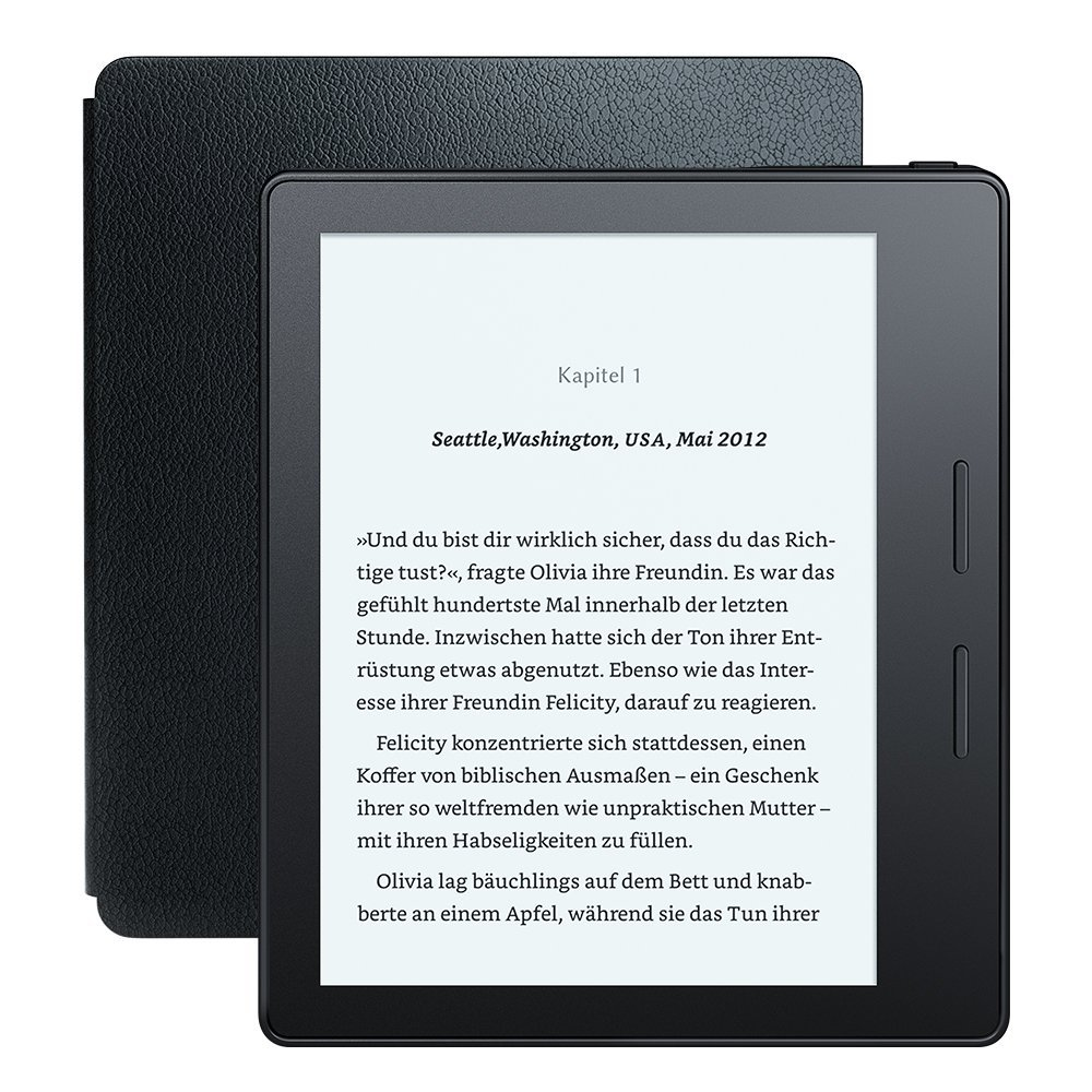 kindle oasis ein ebook reader f r langen lesespa