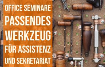 Seminare für Assistentinnen