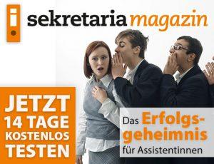 Probe-Abo sekretaria Magazin
