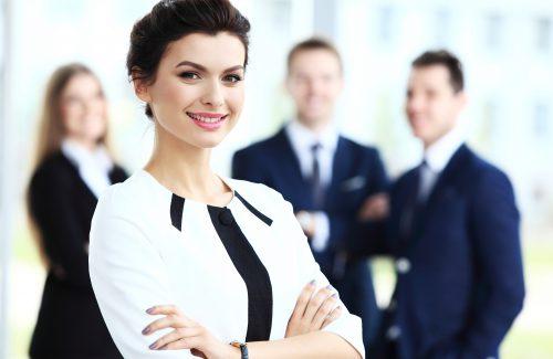 Die effiziente Managementassistentin
