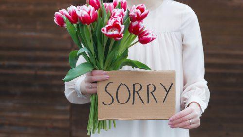 Entschuldigungsschreiben als zweite Chance