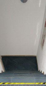 Sicherheitskennzeichnung Treppe