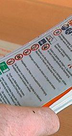 Sicherheitsmerkkarte