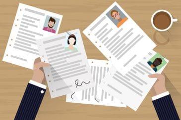 Wie Sie Bewerbungsunterlagen bewerten können