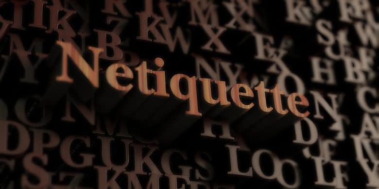 Webinar Netiquette