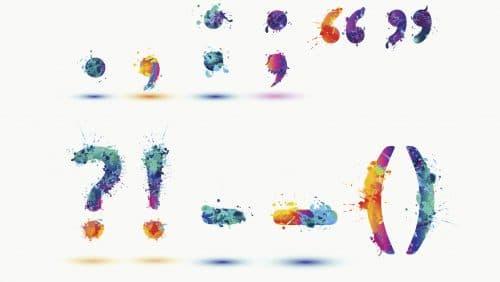 Punkt, Punkt, Komma, Strich: Die Zeichensetzung