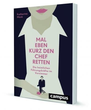 """Buchcover """"Chef retten"""" Katharina Münck"""