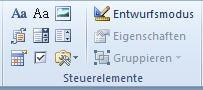 Inhaltssteuerelemente für Formulare in Word