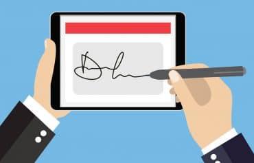 Unterschriftenzusätze