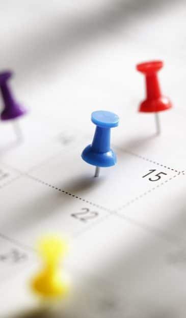 Terminkalender für CB