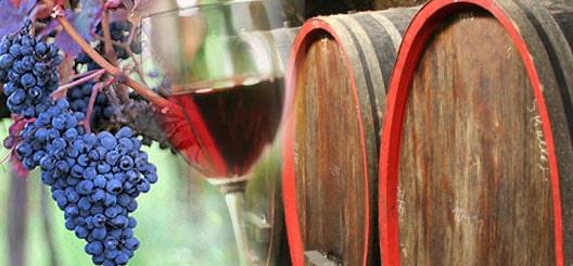 Wein und Planwagen