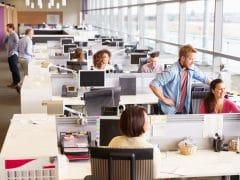 Nervige Faktoren im Großraumbüro