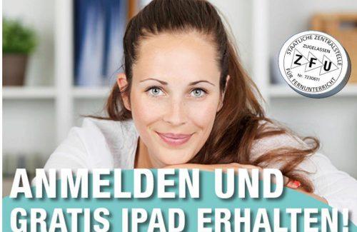Fernstudium mit gratis iPad!
