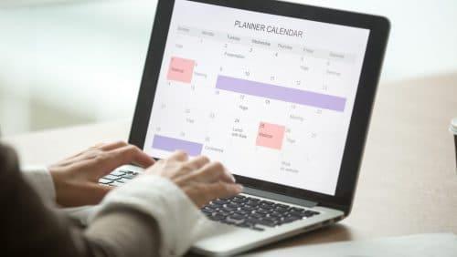 Den Kalender des Chefs im Griff behalten
