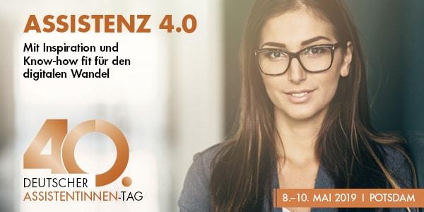 Anmelden zum 40. Deutschen Assistentinnen-Tag