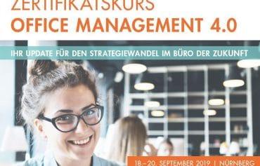 Ähnliches ThemaZertifikatskurs Office-Managerin 4.0