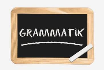 Grammatik im Griff