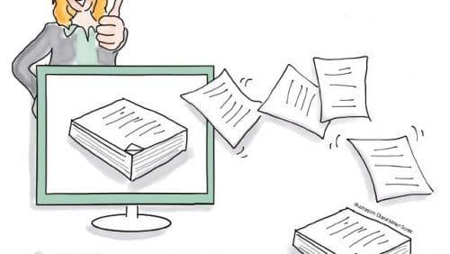 Das papierlose Büro – so setzen Sie es um